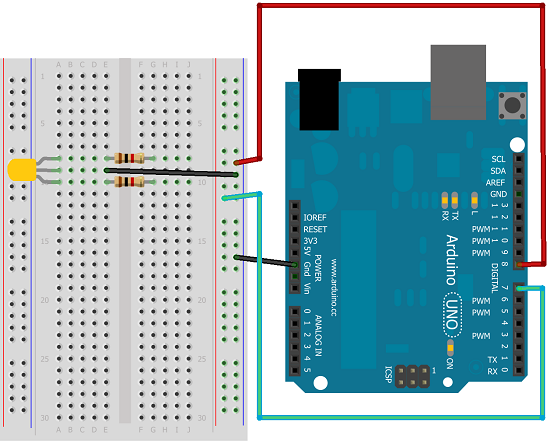 multiwingspan arduino circuit diagram