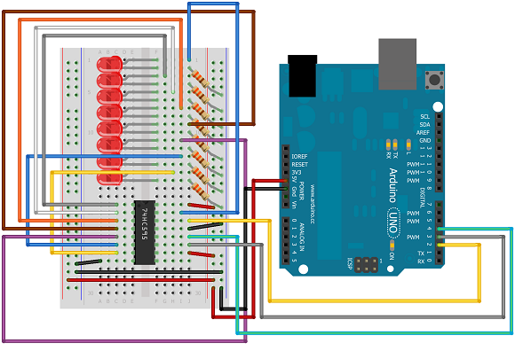 Arduino reading ports