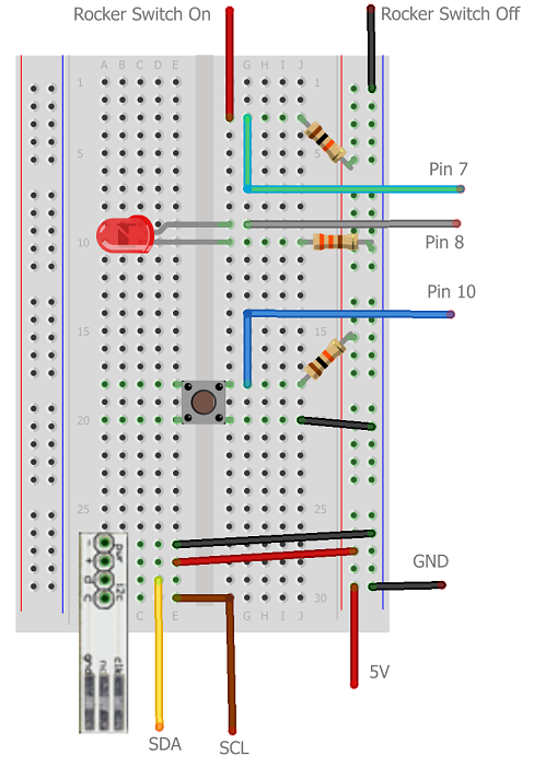 arduino circuit diagram