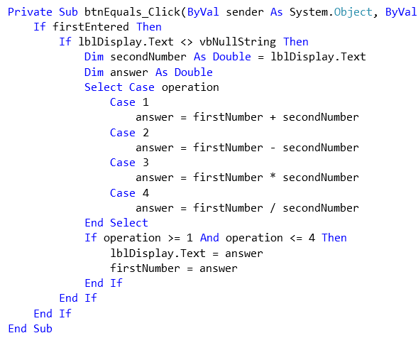 VB.Net - Program Structure